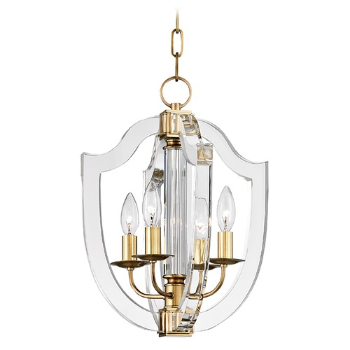 Hudson Valley Lighting Hudson Valley Lighting Arietta Aged Brass Pendant Light 6512-AGB