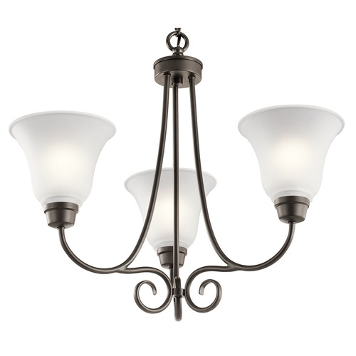 Kichler Lighting Kichler Lighting Bixler Olde Bronze LED Chandelier 43937OZL16