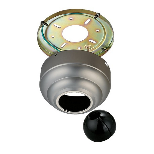 Monte Carlo Fans Ceiling Adaptor in Brushed Pewter Finish MC95BP