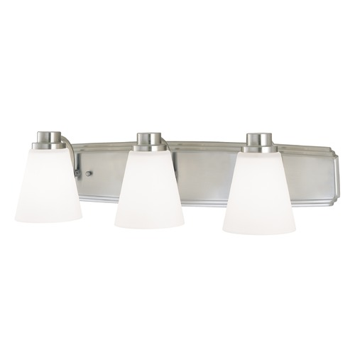 Dolan Designs Lighting Three-Light Bathroom Light 3403-09