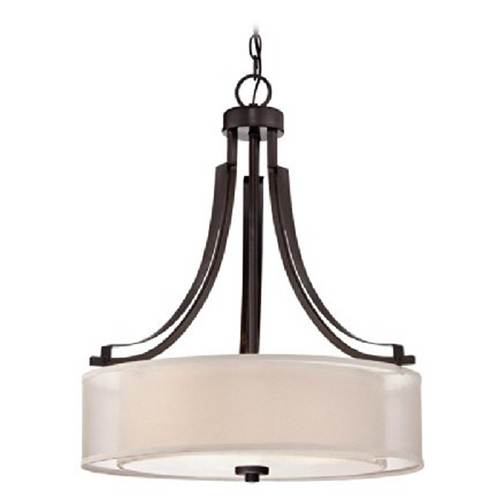 Minka Lavery Minka Lighting Smoked Iron Parsons Studio Pendant Light 4104-172