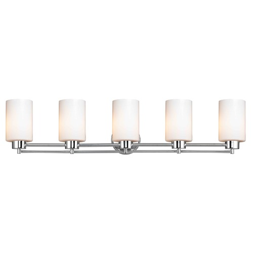 Design Classics Lighting Design Classics Salida Fuse Chrome Bathroom Light 706-26 GL1028C