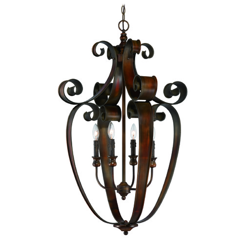 Jeremiah Lighting Jeremiah Seville Spanish Bronze Pendant Light 28034-SPZ