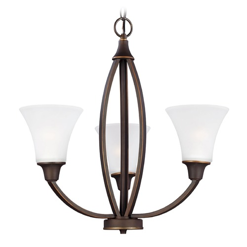 Sea Gull Lighting Sea Gull Lighting Metcalf Autumn Bronze Chandelier 3113203-715