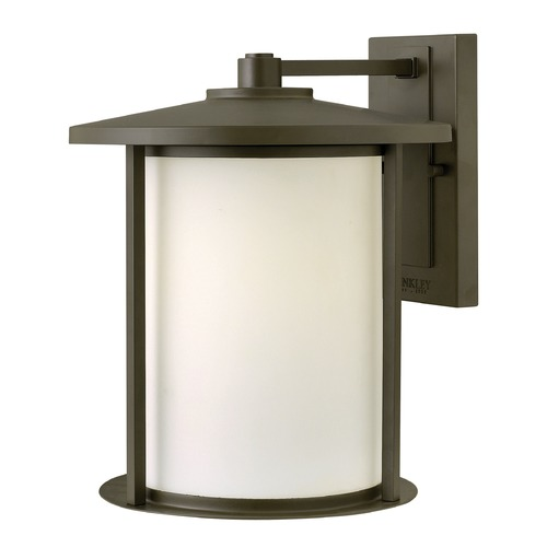 Hinkley Lighting Hinkley Lighting Hudson Oil Rubbed Bronze LED Outdoor Wall Light 1915OZ-LED