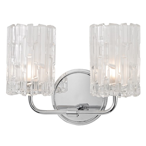 Hudson Valley Lighting Dexter 2 Light Bathroom Light - Polished Chrome 1332-PC
