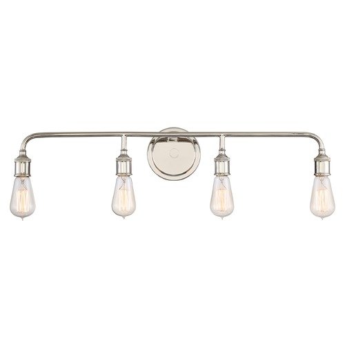Quoizel Lighting Quoizel Lighting Menlo Imperial Silver Bathroom Light MNO8604IS
