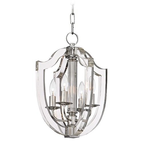 Hudson Valley Lighting Hudson Valley Lighting Arietta Polished Nickel Pendant Light 6512-PN