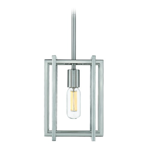 Golden Lighting Golden Lighting Tribeca Pewter Mini-Pendant Light 6070-M1LPW-PW