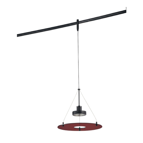 George Kovacs Lighting Modern LED Rail Head in Sable Bronze Patina Finish GKTH1406-RD-467