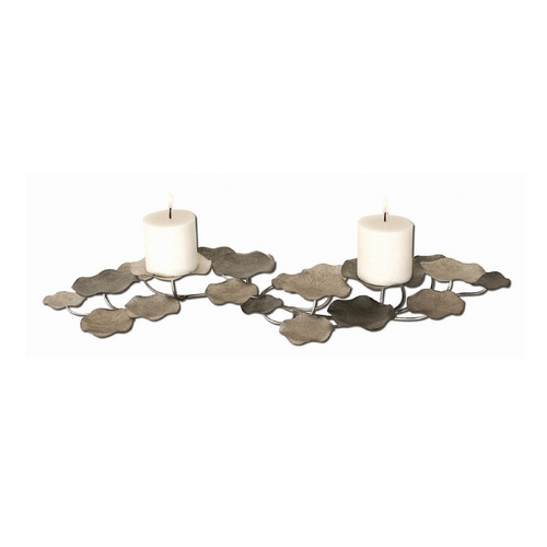 Uttermost Lighting Candle Holder in Champagne Finish 17079