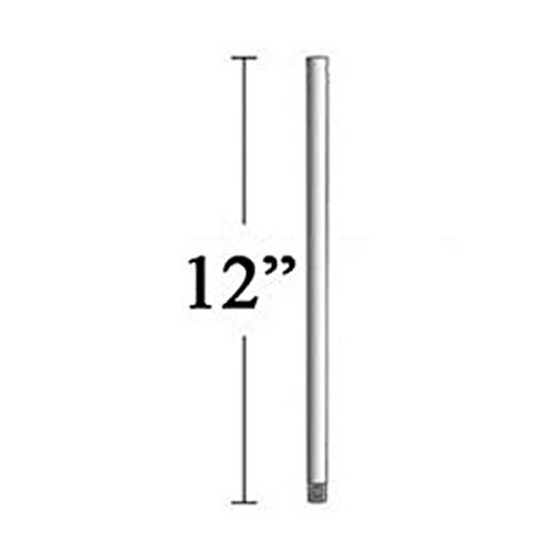 Minka Aire 12-Inch Downrod for Minka Aire Fans - Silver Finish DR512-SL