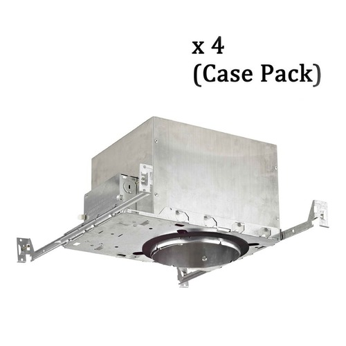 Recesso Lighting by Dolan Designs Recesso 6-Inch Recessed Can Light - IC & Airtight - Case Pack of 4 IC66-CASE