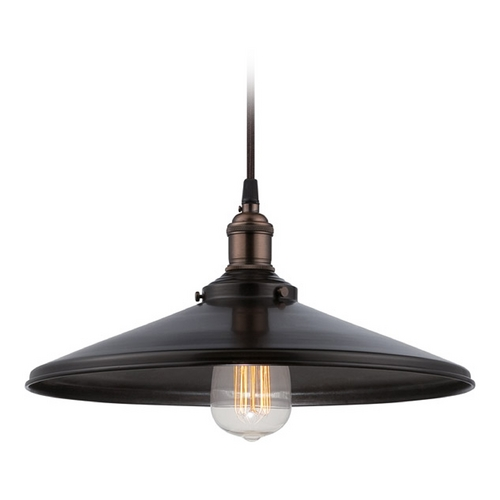 Nuvo Lighting Pendant Light in Rustic Bronze Finish 60/5509