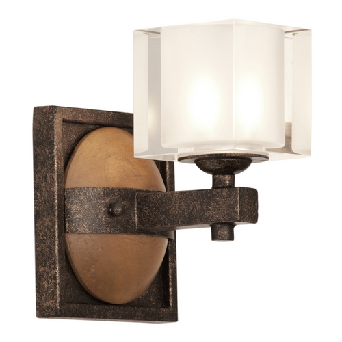 Kalco Lighting Kalco Lighting Hampton Florence Gold Sconce 2931FG