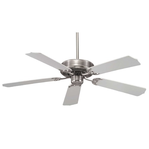 Savoy House Savoy House Satin Nickel Ceiling Fan Without Light 52-FAN-5W-SN