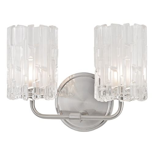 Hudson Valley Lighting Dexter 2 Light Bathroom Light - Satin Nickel 1332-SN