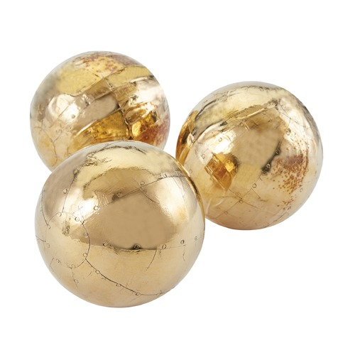 Dimond Home German Gold Metallic Orbs 178-021/S3