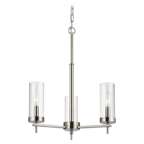 Sea Gull Lighting Sea Gull Lighting Zire Brushed Nickel Mini-Chandelier 3190303-962