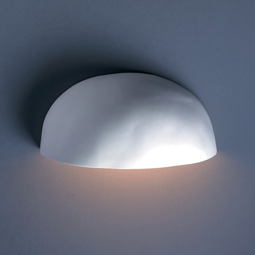 Justice Design Group Outdoor Wall Light in Bisque Finish CER-2190W-BIS