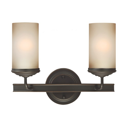 Sea Gull Lighting Sea Gull Lighting Sfera Autumn Bronze Bathroom Light 4491402BLE-715