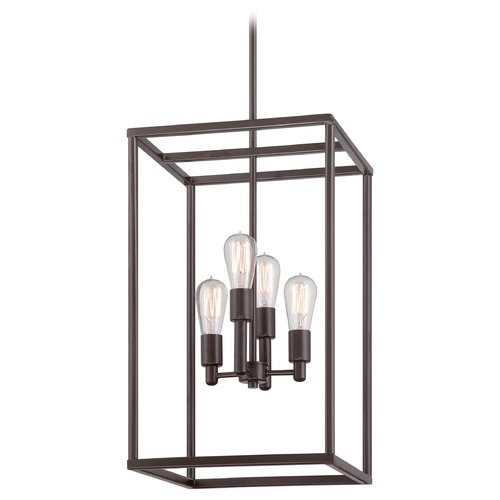 Quoizel Lighting Quoizel New Harbor Western Bronze Pendant Light NHR5204WT