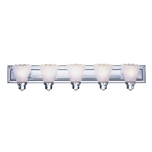 Livex Lighting Livex Lighting Chrome Bathroom Light 1205A-05