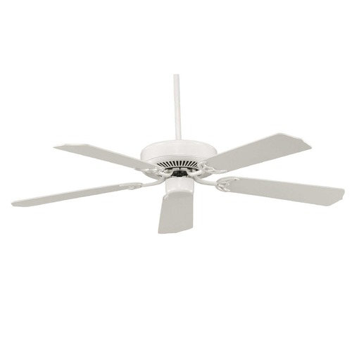 Savoy House Savoy House White Ceiling Fan Without Light 52-FAN-5W-WH