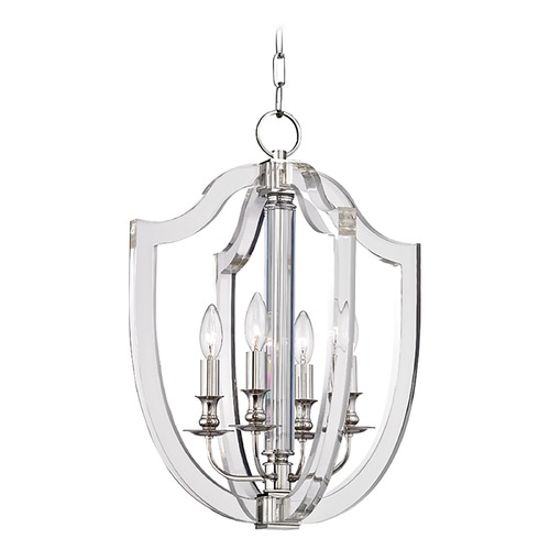 Hudson Valley Lighting Hudson Valley Lighting Arietta Polished Nickel Pendant Light 6516-PN