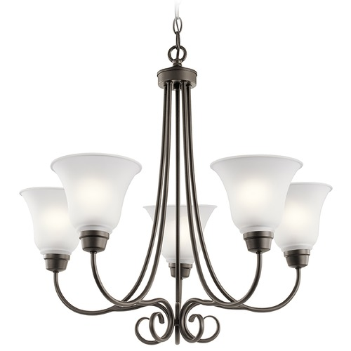 Kichler Lighting Kichler Lighting Bixler Olde Bronze Chandelier 43938OZ