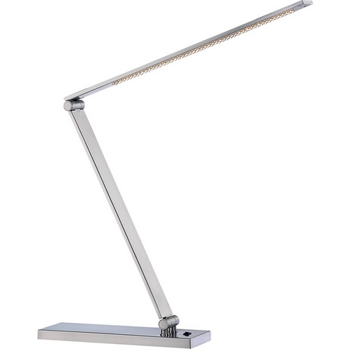 Lite Source Lighting Lite Source Lighting Sloane Ii Polished Steel LED Desk Lamp LS-21478PS
