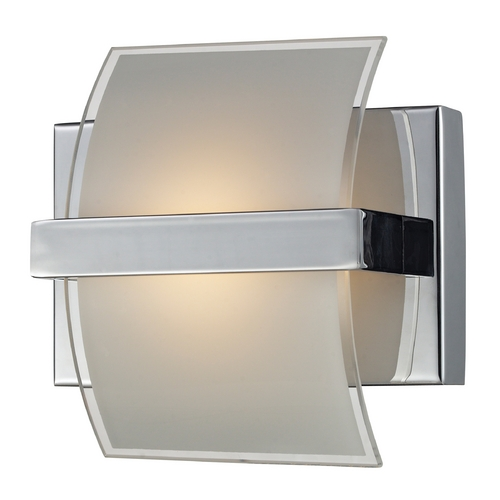Elk Lighting Modern LED Sconce Wall Light in Chrome Finish 81030/1