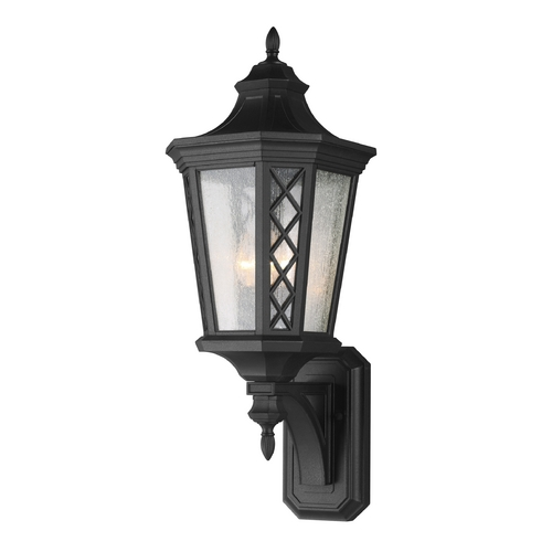 Feiss Lighting Feiss Lighting Wembley Park Textured Black Outdoor Wall Light OL9505TXB