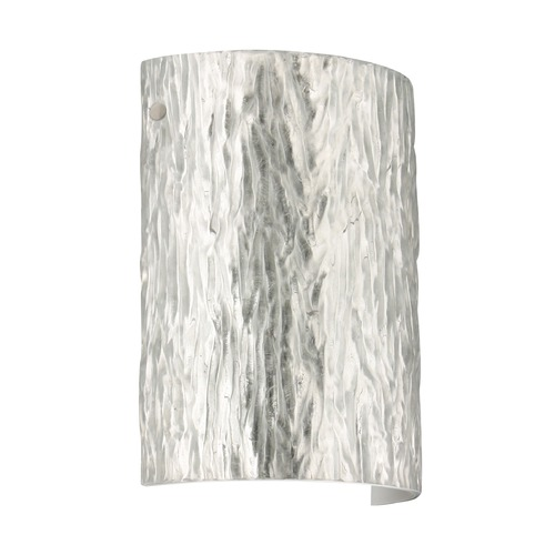 Besa Lighting Besa Lighting Tamburo Satin Nickel LED Sconce 7090SF-LED-SN