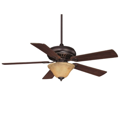 Savoy House Savoy House English Bronze Ceiling Fan with Light 52P-614-5WA-13