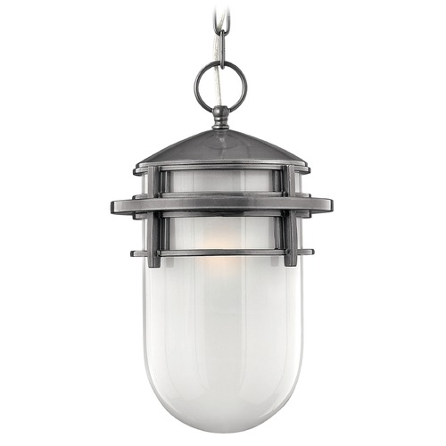 Hinkley Lighting Hinkley Lighting Reef Hematite LED Outdoor Hanging Light 1952HE-LED