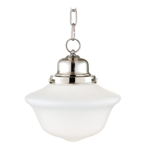 Hudson Valley Lighting Hudson Valley Lighting Edison Collection Polished Nickel Mini-Pendant Light 1609-PN