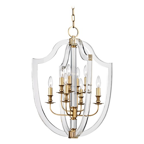 Hudson Valley Lighting Hudson Valley Lighting Arietta Aged Brass Pendant Light 6520-AGB