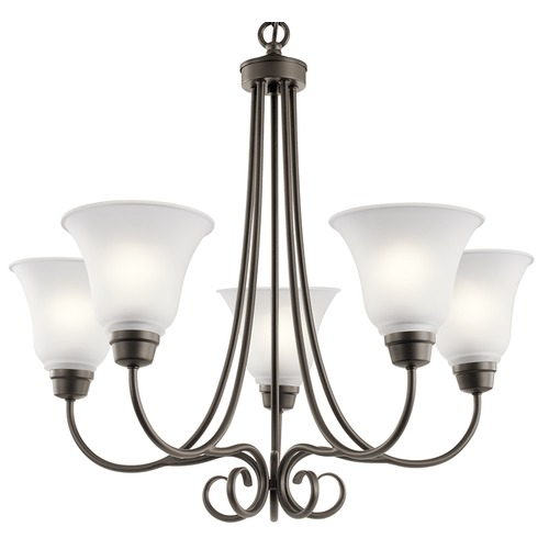 Kichler Lighting Kichler Lighting Bixler Olde Bronze LED Chandelier 43938OZL16