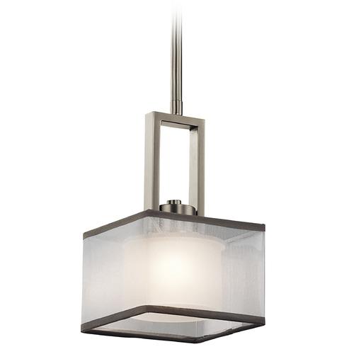 Kichler Lighting Kailey Brushed Nickel Mini Pendant Light
