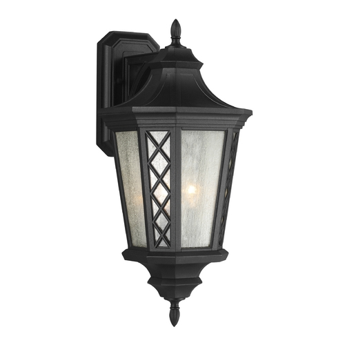 Feiss Lighting Feiss Lighting Wembley Park Textured Black Outdoor Wall Light OL9506TXB