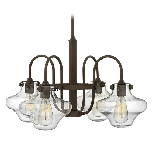 Hinkley Lighting Hinkley Lighting Congress Oil Rubbed Bronze Chandelier 3041OZ