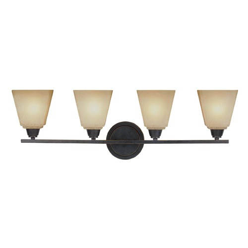 Sea Gull Lighting Sea Gull Lighting Parkfield Flemish Bronze Bathroom Light 4413004-845