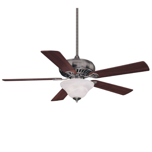 Savoy House Savoy House Brushed Pewter Ceiling Fan with Light 52P-614-5WA-187
