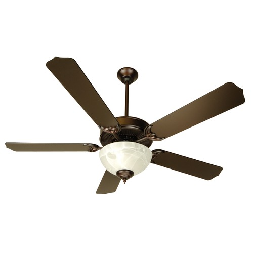 Craftmade Lighting Craftmade Pro Builder 201 Oiled Bronze Ceiling Fan with Light K10433