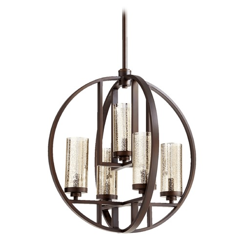 Quorum Lighting Quorum Lighting Julian Oiled Bronze Chandelier 603-5-86