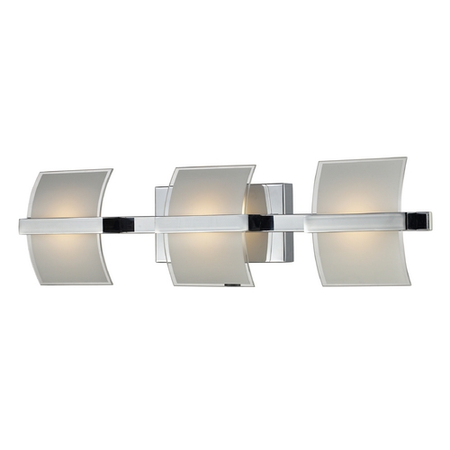 Elk Lighting Modern LED Bathroom Light in Chrome Finish 81032/3