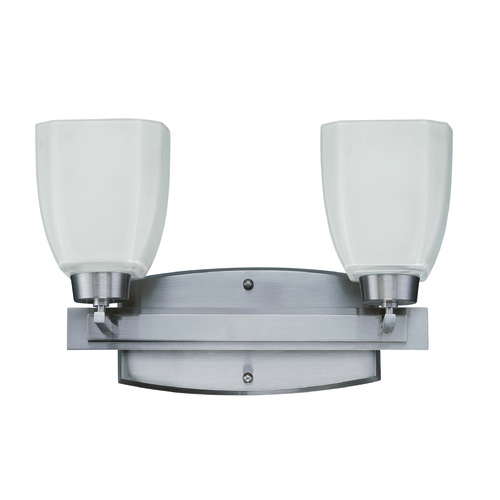 Jeremiah Lighting Jeremiah Bridwell Brushed Satin Nickel Bathroom Light 14715BNK2