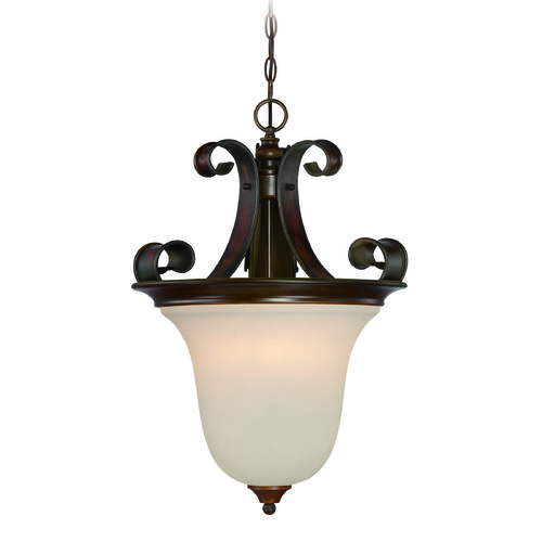 Craftmade Lighting Craftmade Seville Spanish Bronze Pendant Light with Bell Shade 28023-SPZ