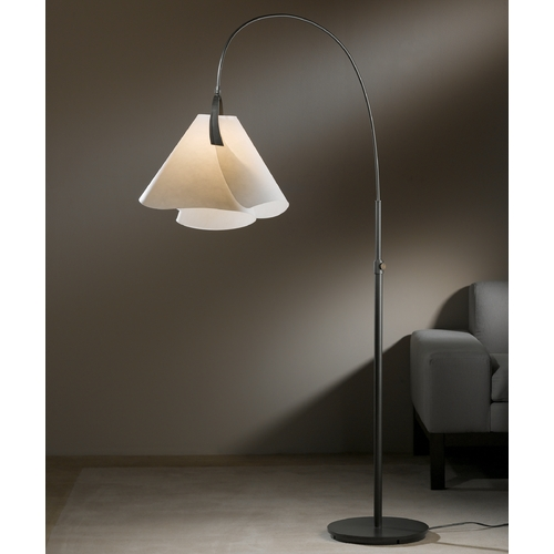 Hubbardton Forge Lighting Hubbardton Forge Lighting Mobius Dark Smoke Arc Lamp 234505-SKT-07-SH1992